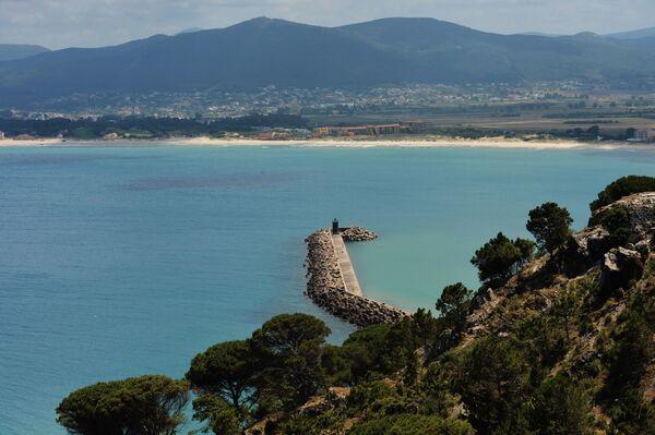 Vista del faro di Tabarka, Tunisia - Sputnik Italia