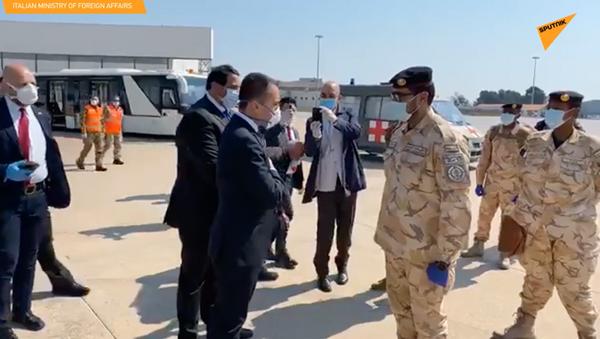 Due ospedali da campo in arrivo in Italia dal Qatar - Sputnik Italia