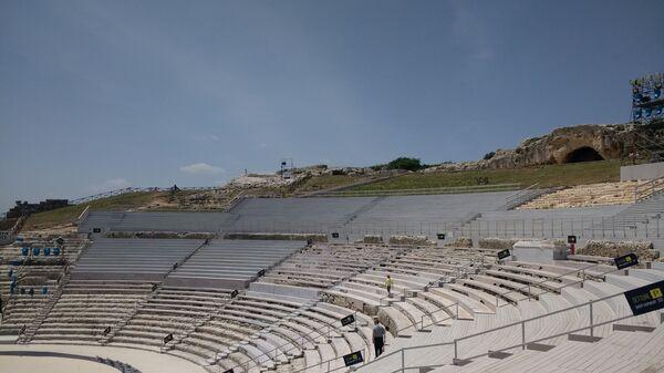 Il Teatro Greco in Sicilia  - Sputnik Italia
