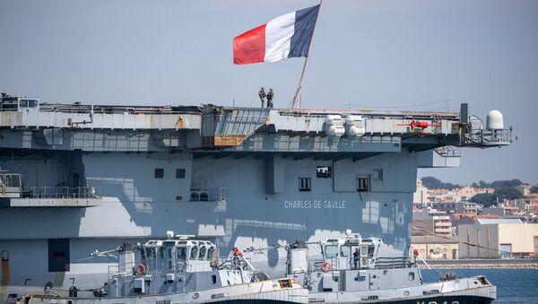 La portaerei Charles De Gaulle - Sputnik Italia