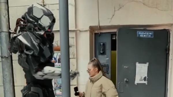 Robot controllano le autocertificazioni a Mosca - Sputnik Italia