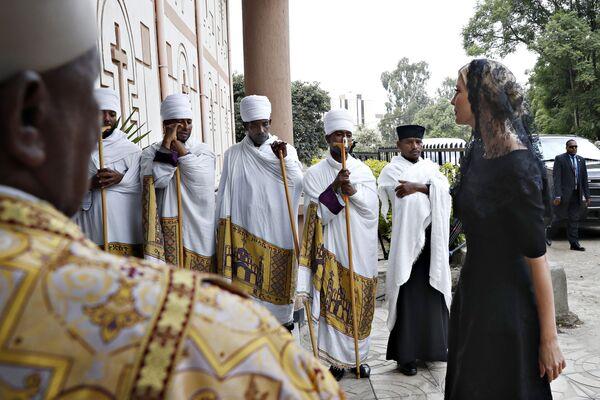 Ivanka Trump in visita in Etiopia. - Sputnik Italia