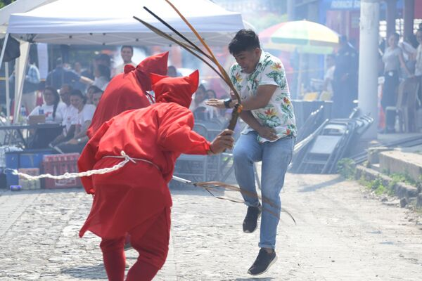 Le celebrazioni tradizionali della Settimana Santa in San Salvador. - Sputnik Italia
