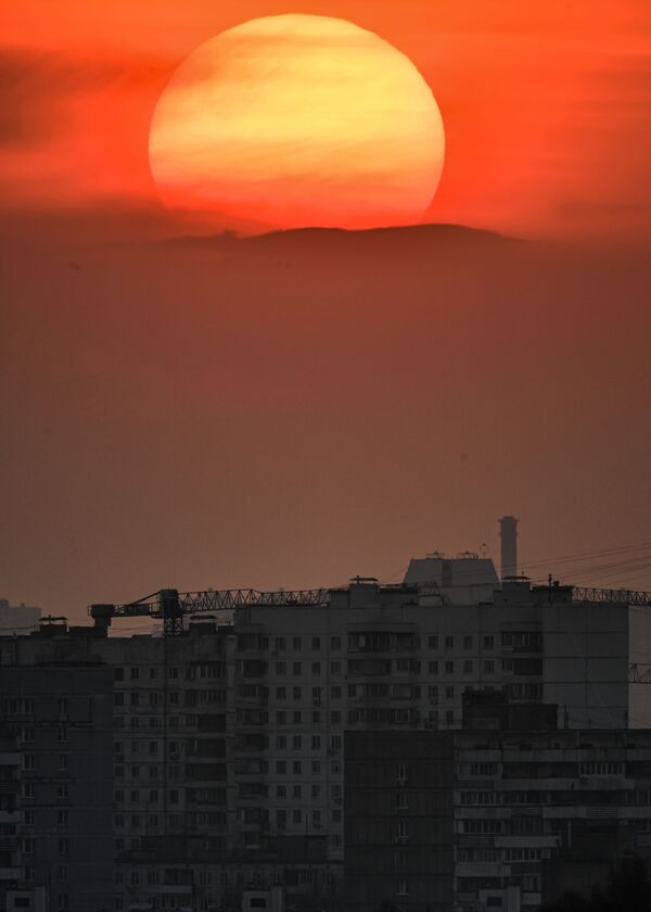 Il tramonto a Mosca - Sputnik Italia