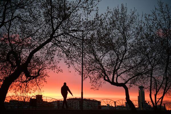 Il tramonto a Mosca, Russia - Sputnik Italia