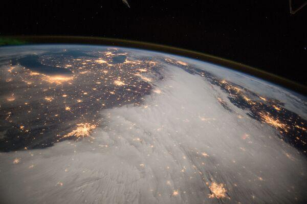 L'America centrale vista dalla Stazione spaziale internazionale. - Sputnik Italia