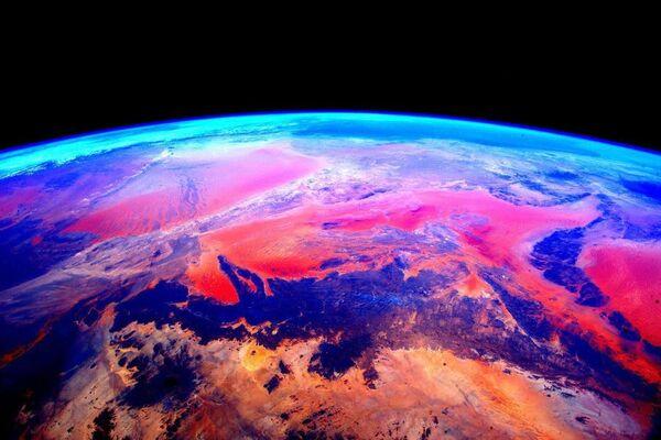 Uno scatto della Terra dalla Stazione spaziale internazionale. - Sputnik Italia