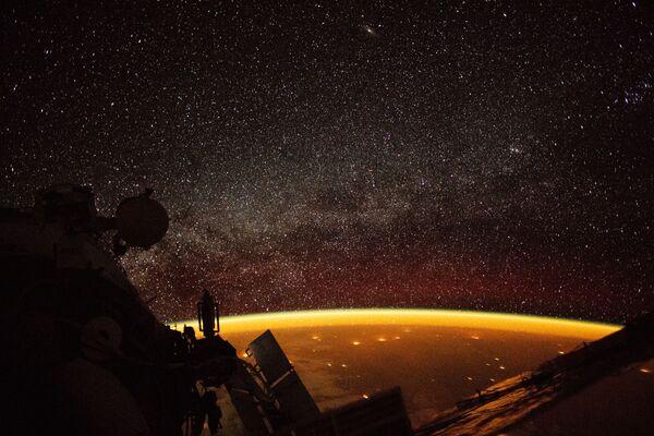La Terra vista dalla Stazione spaziale internazionale. - Sputnik Italia