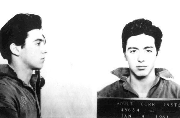 Al Pacino dopo l'arresto, 1961 - Sputnik Italia