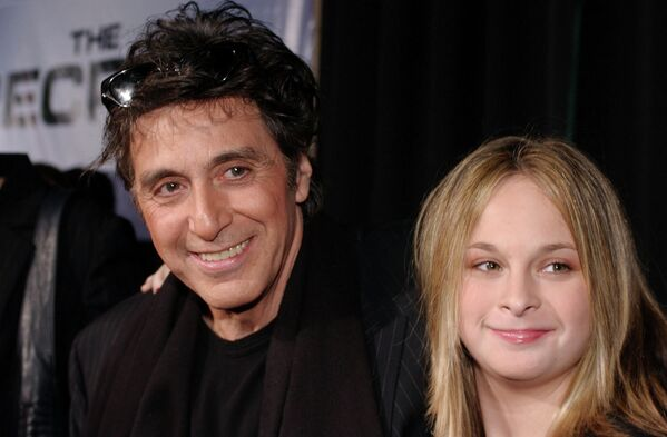 Al Pacino con sua figlia Giulia - Sputnik Italia