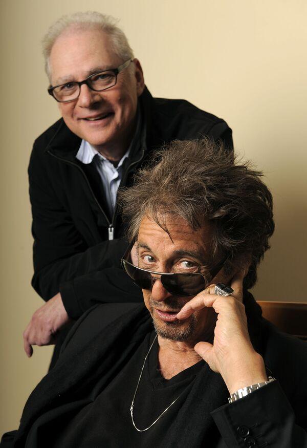 Al Pacino con il regista Barry Levinson, 2010 - Sputnik Italia