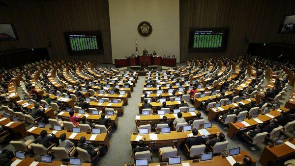 L'Assemblea Nazionale della Corea del Sud (foto d'archivio) - Sputnik Italia