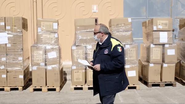 Il Patriarca di Mosca e di tutte le Russie Kirill ha donato 8 tonnellate di materiale sanitario alla Regione Puglia e alla città di Bari per fronteggiare l'epidemia Covid-19 - Sputnik Italia