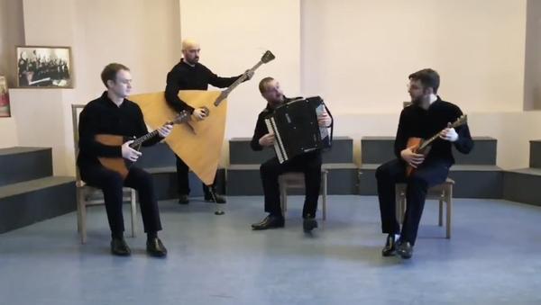 Per il 75° anniversario della Liberazione il gruppo musicale russo Lad-quartet vuole regalare a tutta l'Italia la loro versione dell'iconica Bella Ciao - Sputnik Italia