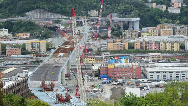 Nuovo ponte di Genova - Sputnik Italia