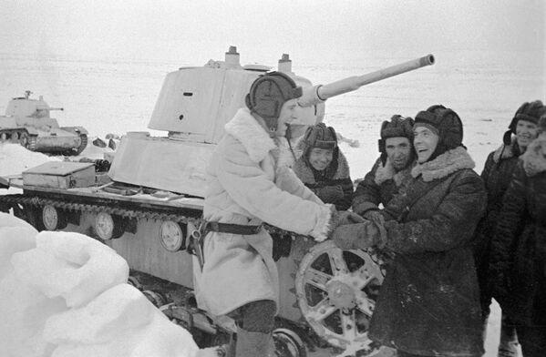Il T-26 è stato un carro armato leggero da supporto alla fanteria prodotto dall'Unione Sovietica  - Sputnik Italia