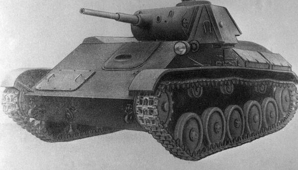 Il T-70 è stato un carro armato leggero sovietico che entrò in servizio nel 1942, come carro leggero da ricognizione e combattimento generale. - Sputnik Italia