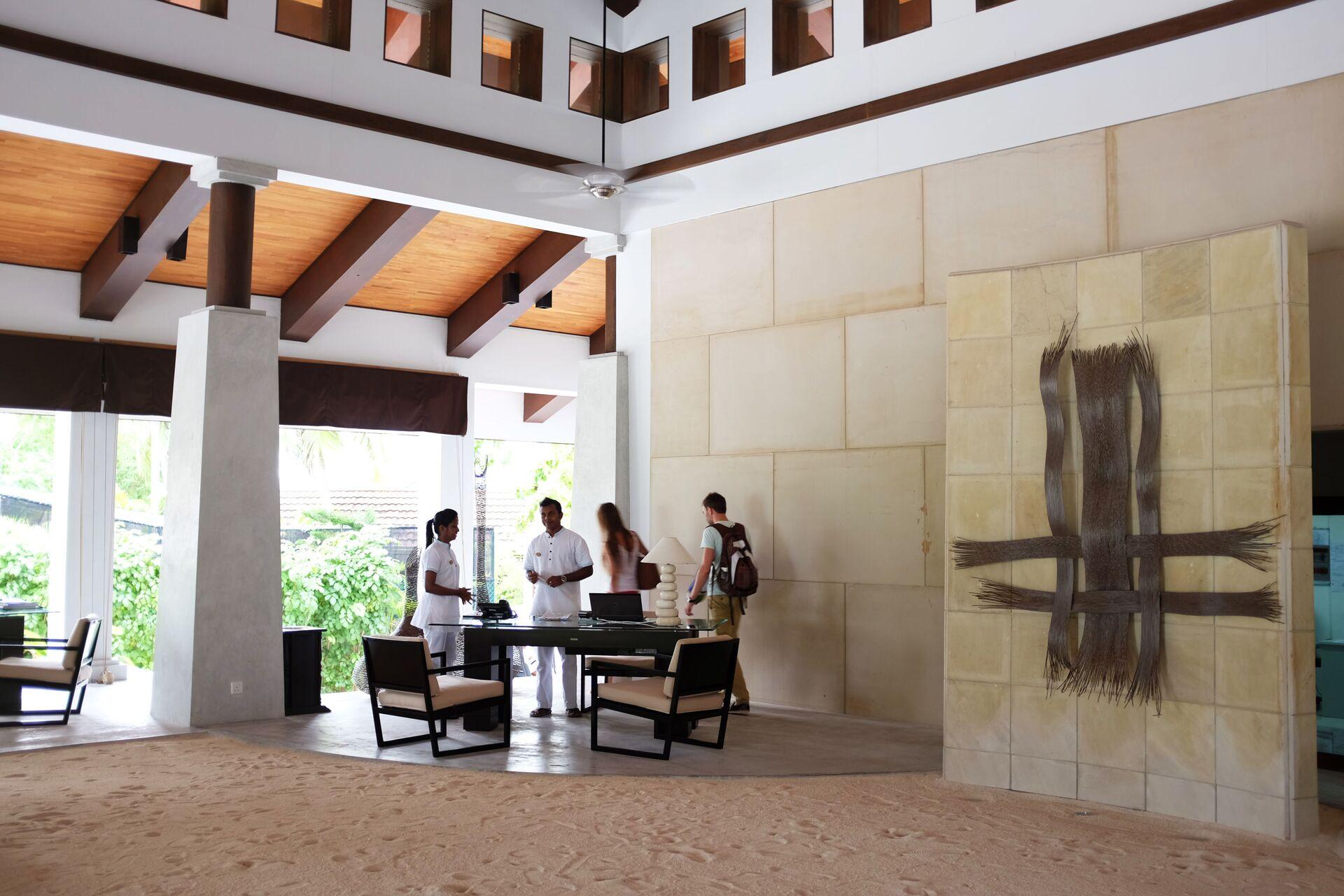 La reception di un hotel alle Maldive - Sputnik Italia, 1920, 22.05.2021