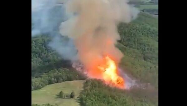 Esplosione gasdotto nella contea di Fleming - Sputnik Italia