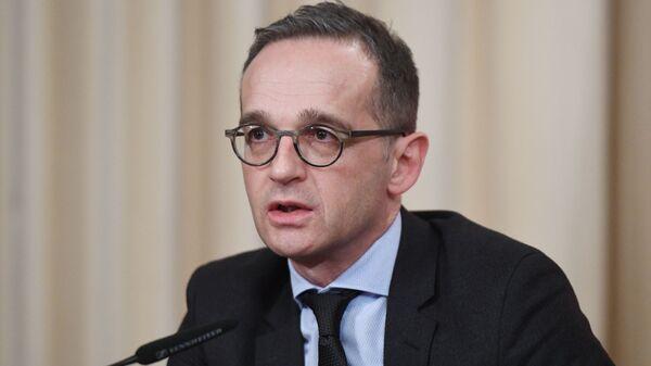 Il ministro degli Esteri tedesco Heiko Maas - Sputnik Italia