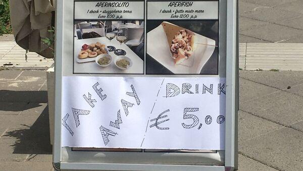 Ristoranti italiani a rischio - Sputnik Italia