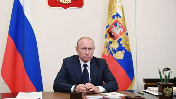 Putin si rivolge alla nazione  - Sputnik Italia