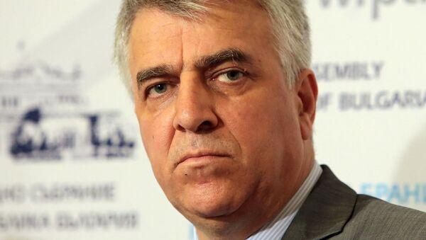 Rumen Gechev, deputato del parlamento bulgaro - Sputnik Italia