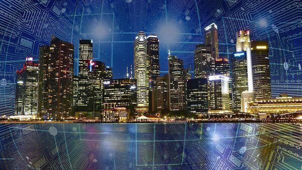 Città del futuro - rappresentazione artistica - Sputnik Italia