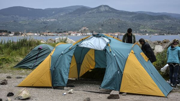 Migranti in Grecia - Sputnik Italia