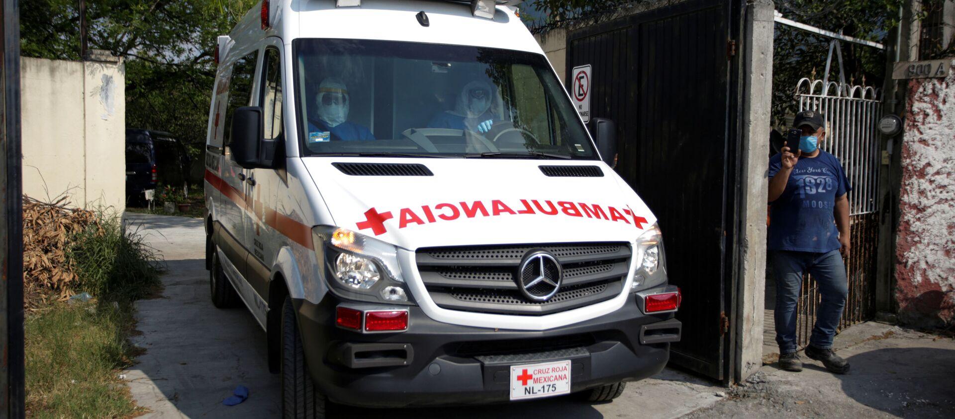 Un'ambulanza in Messico - Sputnik Italia, 1920, 15.05.2020