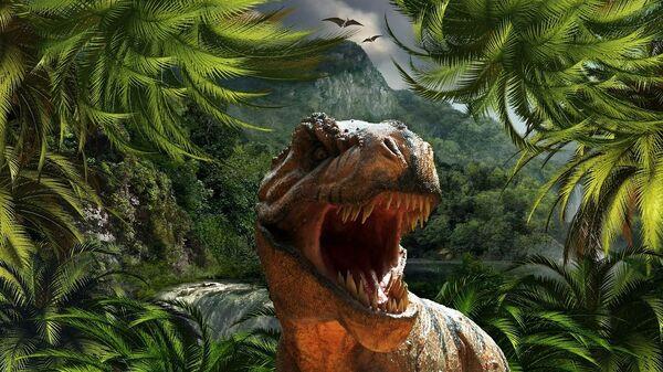 Tiranossauro Rex (illustrazione grafica) - Sputnik Italia