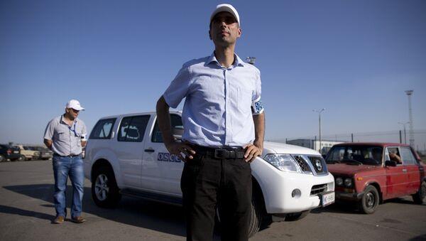 Paul Picard, capo missione OSCE al confine tra Russia e Ucraina - Sputnik Italia