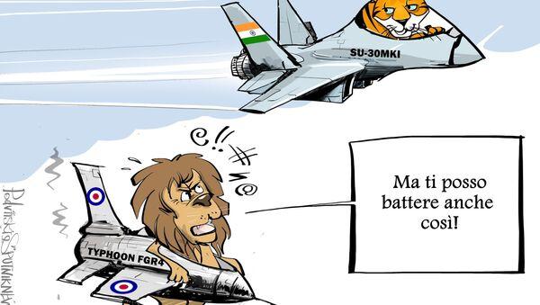 Piloti indiani e britannici - Sputnik Italia