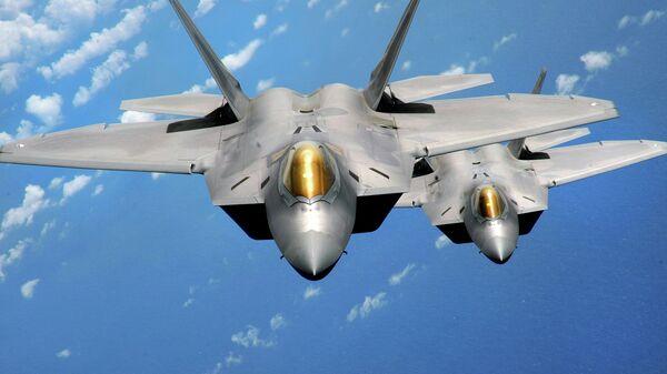 F-22 Raptor, un cacciabombardiere di quinta generazione - Sputnik Italia
