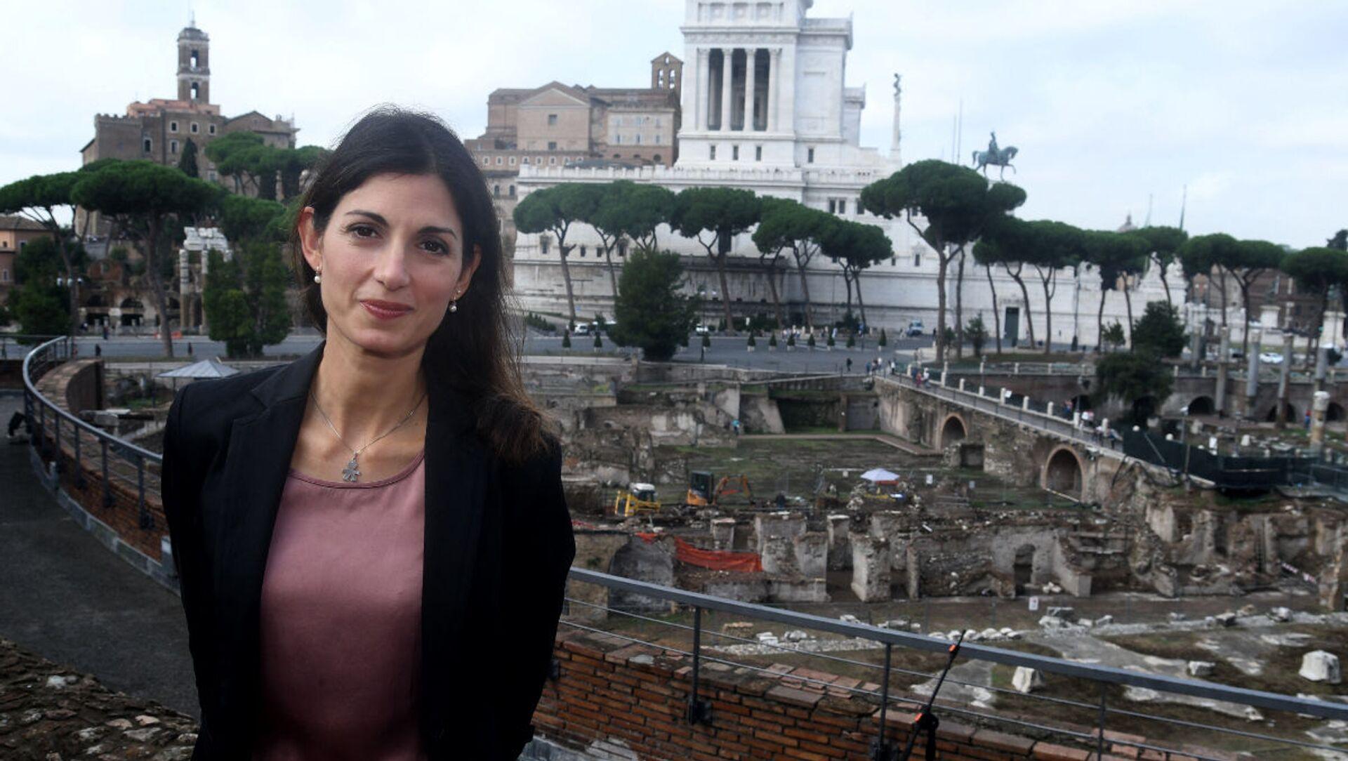 Virginia Raggi, sindaco di Roma Capitale - Sputnik Italia, 1920, 25.03.2021