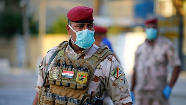 Un soldato iracheno - Sputnik Italia