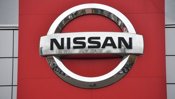 Logo di Nissan - Sputnik Italia