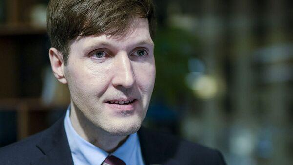 Martin Helme, ministro delle Finanze dell'Estonia - Sputnik Italia