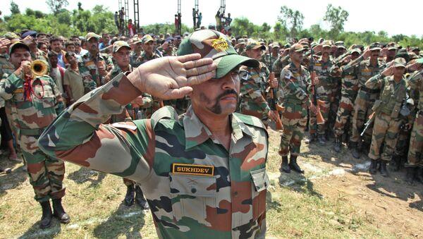 Soldati dell'esercito indiano - Sputnik Italia