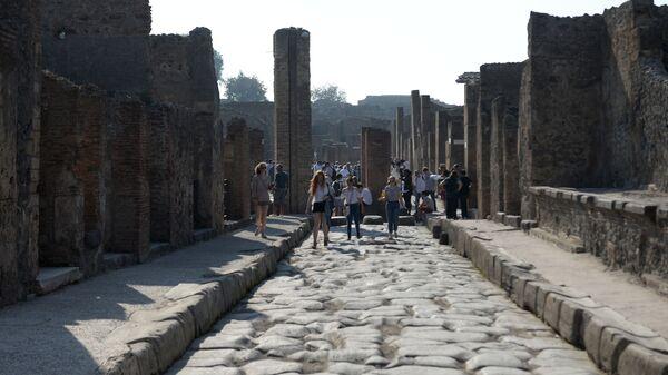 Riaprono gli Scavi di Pompei dopo il lockdown - Sputnik Italia