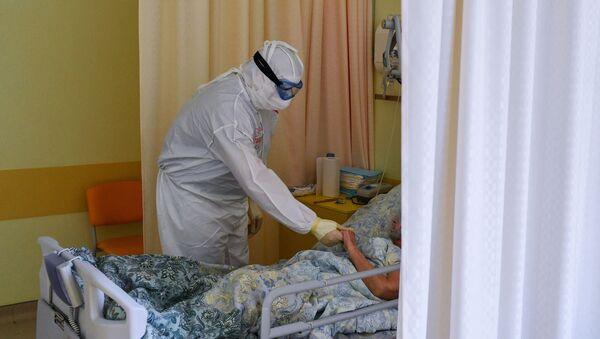 Coronavirus in Russia - Госпиталь COVID-19 в Центре мозга и нейротехнологий ФМБА России - Sputnik Italia