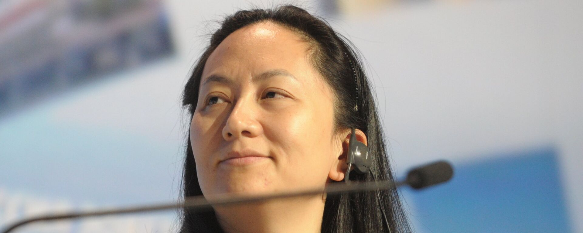 Meng Wanzhou, Chief Executive Officer, Huawei Technologies, attending the 6th Annual VTB Capital Investment Forum Russia Calling at the World Trade Center, October 2, 2014 - Sputnik Italia, 1920, 24.09.2021