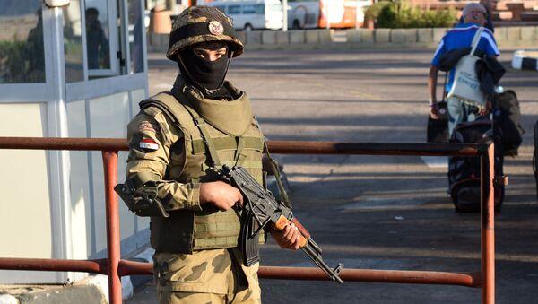 Un soldato delle forze speciali egiziane (foto d'archivio) - Sputnik Italia