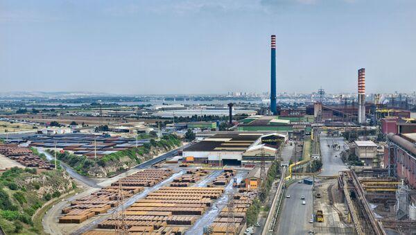 L'impianto Mittal di Taranto - Sputnik Italia