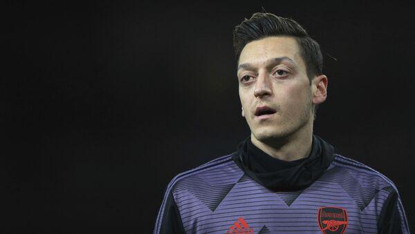 Calciatore dell'Arsenal Mesut Ozil - Sputnik Italia