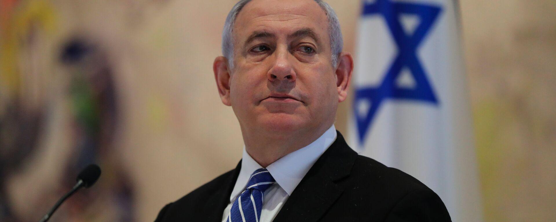 Il primo ministro dell'Israele Benjamin Netanyahu  - Sputnik Italia, 1920, 23.02.2021