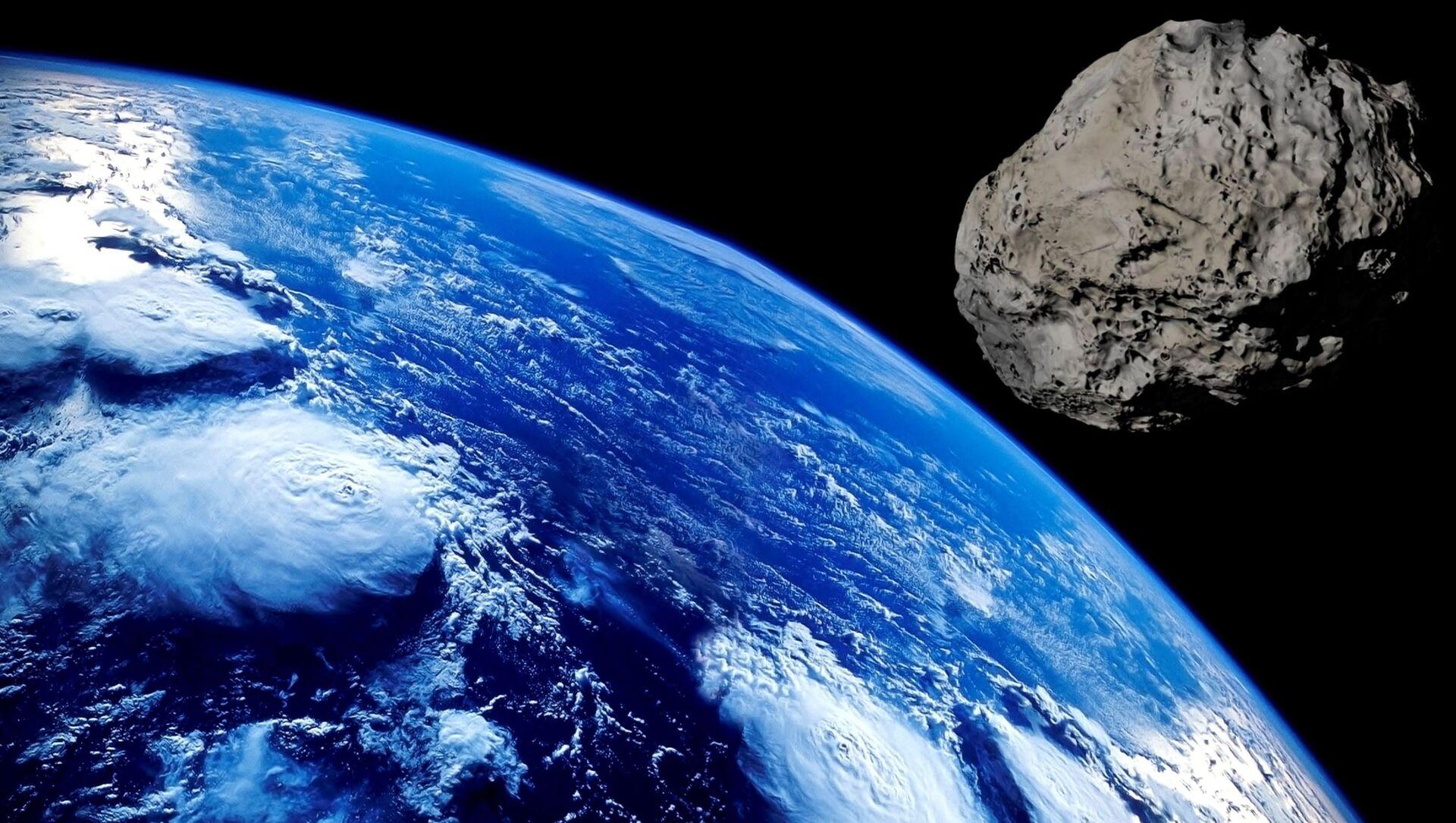 Asteroid and the Earth - Sputnik Italia, 1920, 19.04.2021