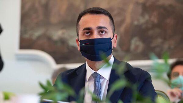 Luigi di Maio partecipa a un panel dedicato al tema della visione del mondo nel post-Covid - Sputnik Italia