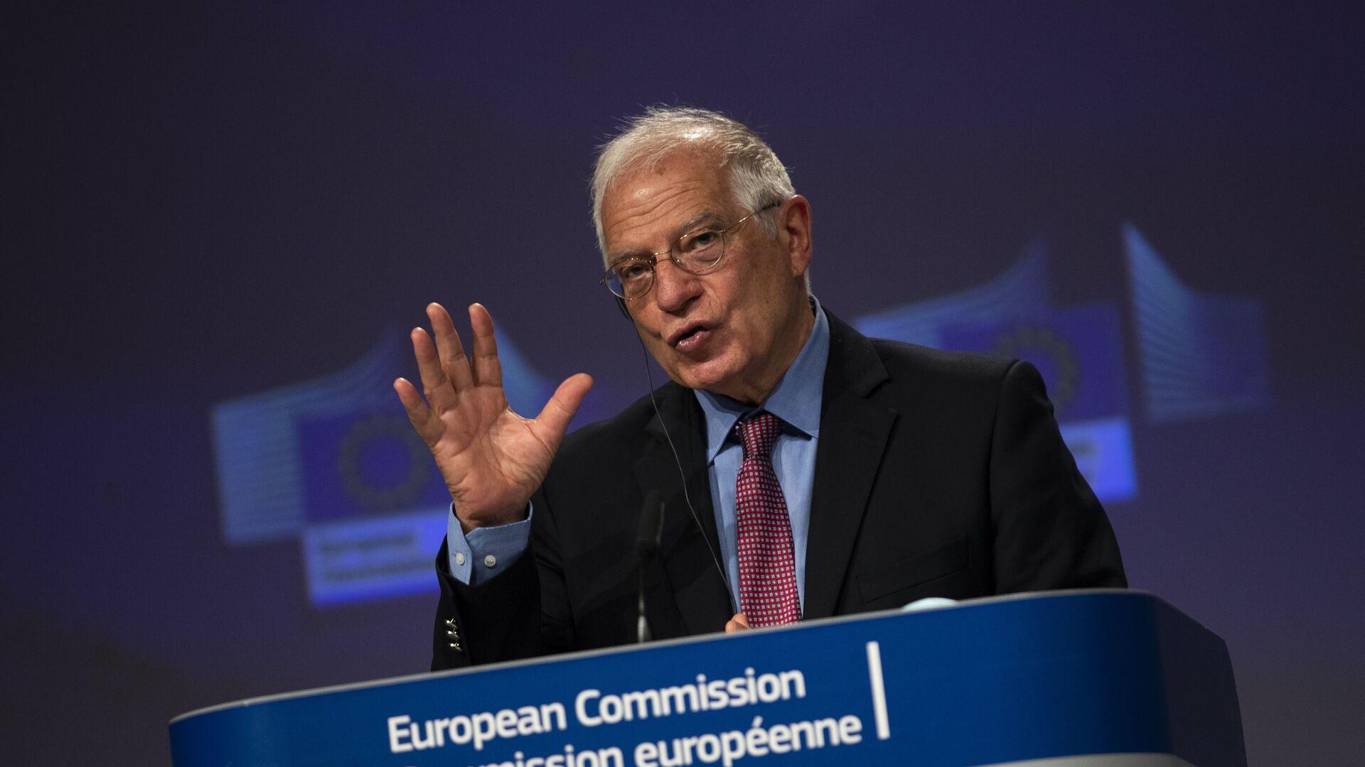 L'Alto Rappresentante per gli Affari Esteri e la Sicurezza dell'Unione Europea, Joseph Borrell - Sputnik Italia, 1920, 22.03.2021
