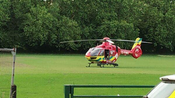 L'elicottero ambulanza a Reading Park - Sputnik Italia